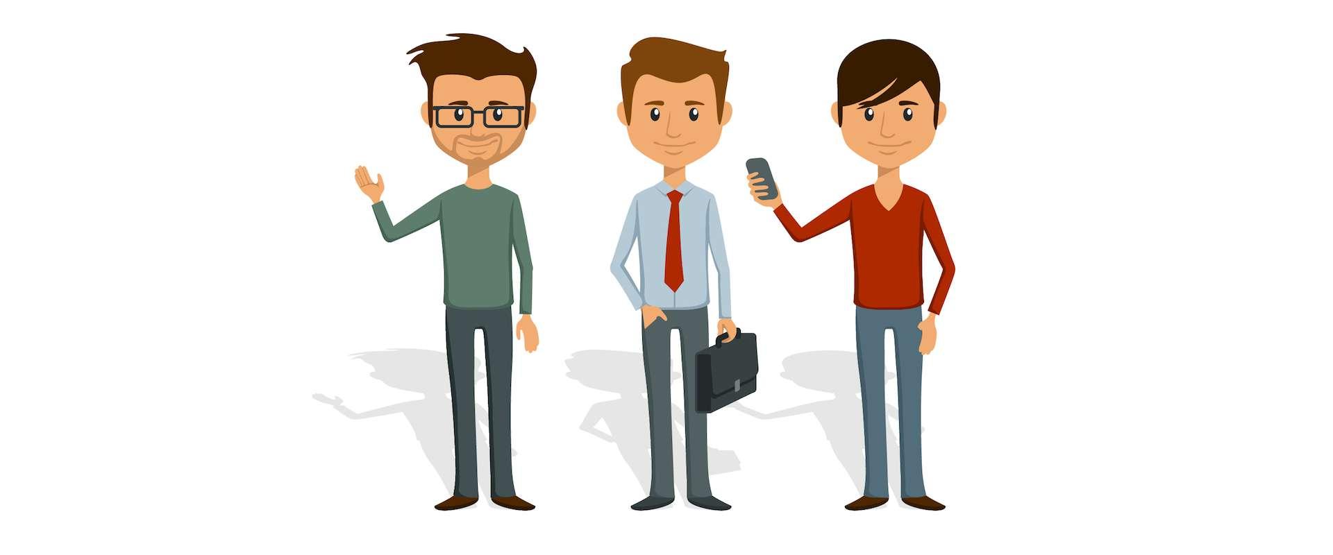 3 facetów: 3 typy leadów