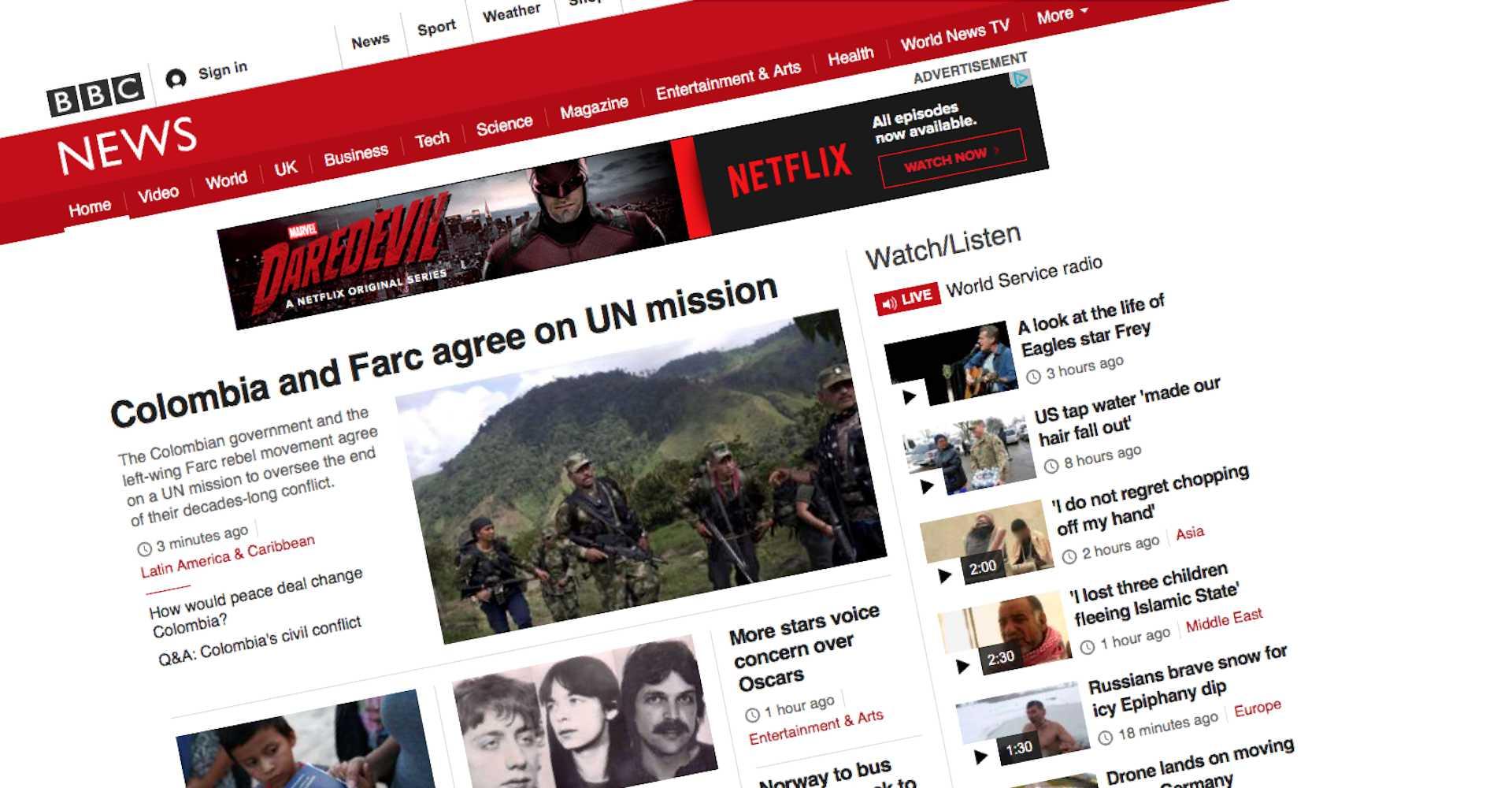 Najlepsze nagłówki BBC News